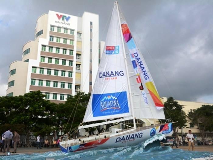 Mô hình thuyền Đà Nẵng - Việt Nam
