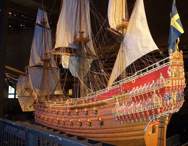 Cùng ngắm nhìn chiến thuyền Vasa Warship Thụy Điển