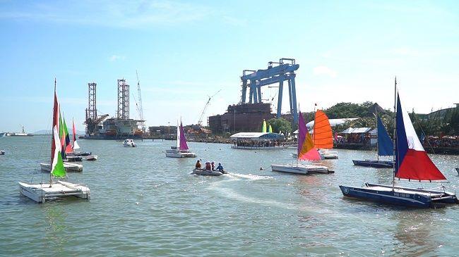 Lễ hội đua thuyền buồm tại bến thuyền Marina - Vũng Tàu